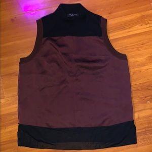 Rag & bone wool & silky tunic top
